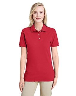 Ladies Premium 100% Ringspun Cotton Pique Polo-Jerzees