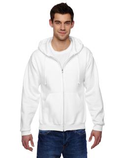 Adult 9.5 Oz., Super Sweats® Nublend® Fleece Full-Zip Hood-