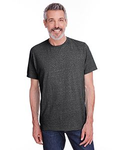 Adult 5.2 Oz., Snow Heather T-Shirt-Jerzees