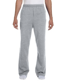 Adult 8 Oz. Nublend® Open-Bottom Fleece Sweatpants-