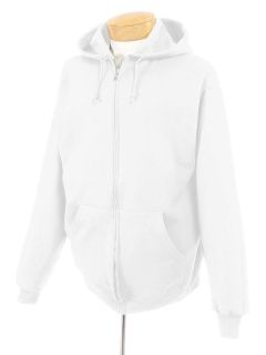 Adult Nublend® Fleece Full-Zip Hooded Sweatshirt-