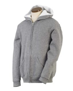 Youth 8 Oz. Nublend® Fleece Full-Zip Hood-