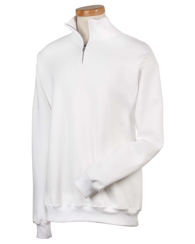 00479ce60d0 Adult 8 Oz. Nublend® Quarter-Zip Cadet Collar Sweatshirt. 995M. Jerzees