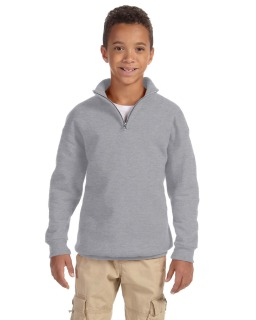 Youth 8 Oz. Nublend® Quarter-Zip Cadet Collar Sweatshirt-Jerzees