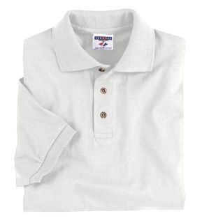 Adult 6.1 Oz. Heavyweight Cotton™ Jersey Polo-Jerzees