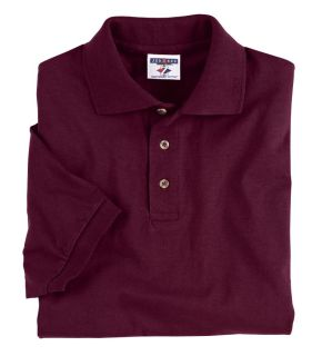 Adult Heavyweight Cotton™ Jersey Polo-Jerzees