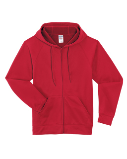 Adult 6 Oz. Dri-Power® Sport Full-Zip Hooded Sweatshirt-