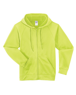 Adult 6 Oz. Dri-Power® Sport Full-Zip Hooded Sweatshirt-Jerzees
