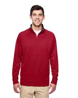 Adult 6 Oz. Dri-Power® Sport Quarter-Zip Cadet Collar Sweatshirt-