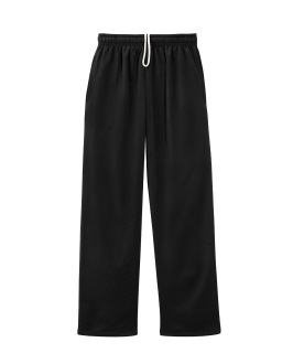 Adult 6 Oz. Dri-Power® Sport Pocketed Open-Bottom Sweatpant-Jerzees