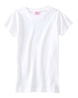 Girls Fine Jersey T-Shirt-LAT
