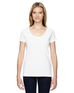 Ladies Scoop Neck T-Shirt-