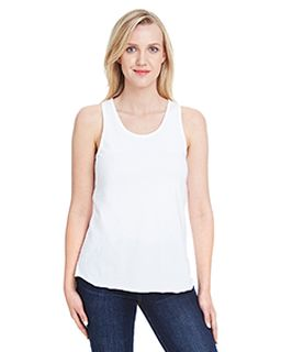 Ladies Relaxed Racerback Tank-LAT