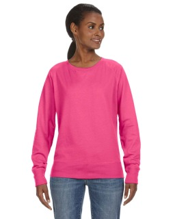 Ladies French Terry Slouchy Pullover-