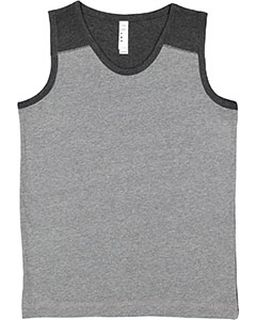 Youth Contrast Back Tank-