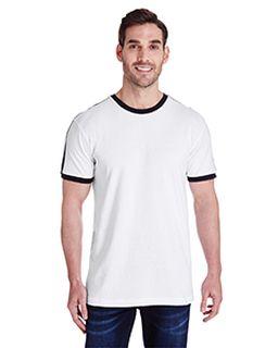 Mens Soccer Ringer T-Shirt-