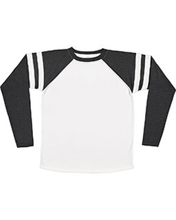 Mens Gameday Mash-Up Long Sleeve Fine Jersey T-Shirt-LAT