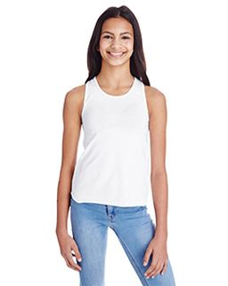 Girls Relaxed Racerback Tank-LAT