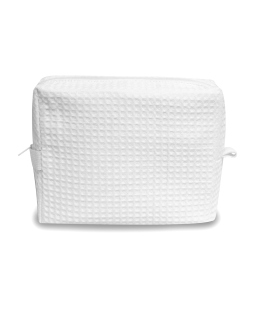 Tammy Waffle Weave Spa Bag-