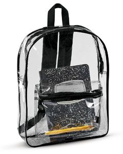 Clear Backpack-