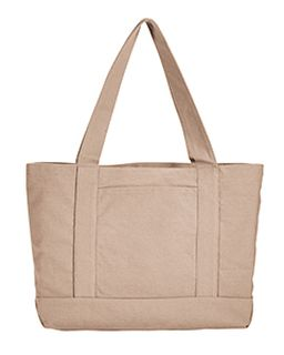 Seaside Cotton Canvas 12 Oz. Pigment-Dyed Boat Tote-