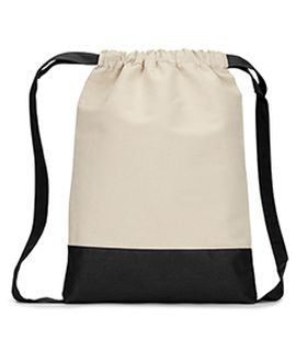 Cape Cod Cotton Drawstring Backpack-