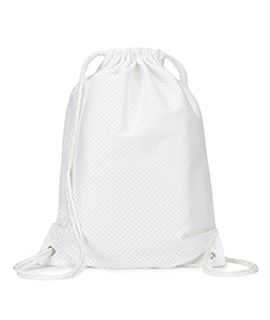 Jersey Mesh Drawstring Backpack-