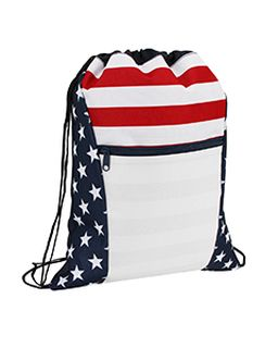 Oad Americana Drawstring Bag-