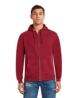 Unisex Premium Full-Zip Hooded Sweatshirt-Lane Seven