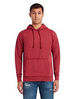 Unisex Vintage Raglan Hooded Sweatshirt-