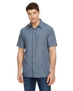 Mens Elridge Woven Short-Sleeve Shirt-