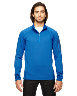 Mens Stretch Fleece Half-Zip-