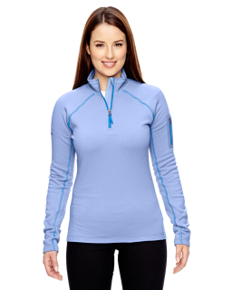 Ladies Stretch Fleece Half-Zip