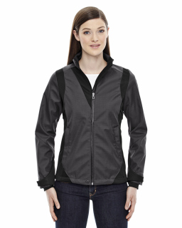 Ladies Commute Three-Layer Light Bonded Two-Tone Soft Shell Jacket With Heat Reflect Technology