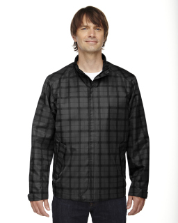 Mens Locale Lightweight City Plaid Jacket