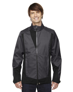 Mens Commute Three-Layer Light Bonded Two-Tone Soft Shell Jacket With Heat Reflect Technology