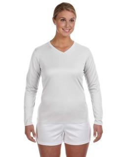 Ladies Ndurance® Athletic Long-Sleeve V-Neck T-Shirt