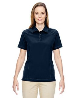 Ladies Excursion Crosscheck Woven polo-