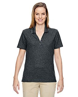 Ladies Excursion Nomad Performance Waffle Polo-Ash City - North End