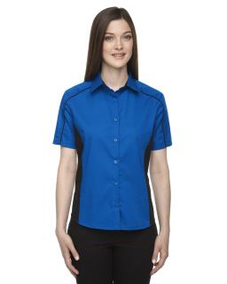 Ladies Fuse Colorblock Twill Shirt