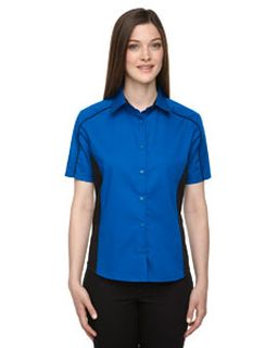 Ladies Fuse Colorblock Twill Shirt-Ash City - North End