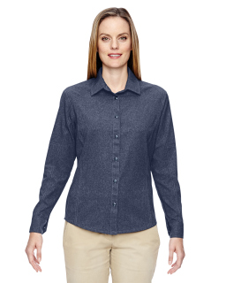 Ladies Excursion Utility Two-Tone Performance Shirt