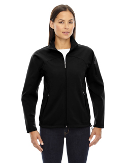 Ladies Three-Layer Fleece Bonded Performance Soft Shell Jacket