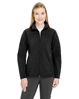 Ladies Three-Layer Fleece Bonded Performance Soft Shell Jacket-Ash City - North End