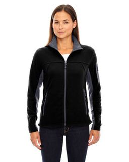 Ladies Microfleece Jacket-Ash City - North End