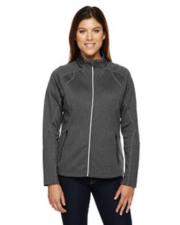 Ladies Gravity Performance Fleece Jacket-Ash City - North End