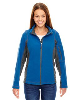 Ladies Generate Textured Fleece Jacket-Ash City - North End