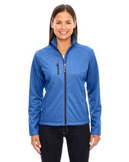 Ladies Trace Printed Fleece Jacket-Ash City - North End