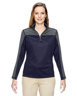 Ladies Excursion Circuit Performance Quarter-Zip-Ash City - North End