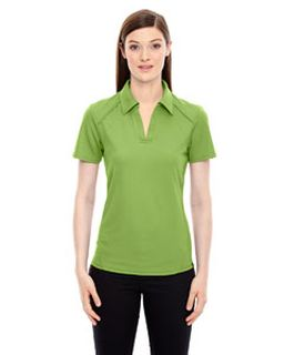 Ladies Recycled Polyester Performance Pique Polo-Ash City - North End